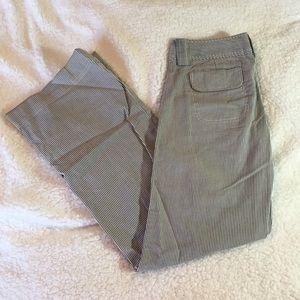 GAP Striped Wide-Leg Pant {Size 2L}